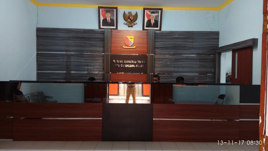 Ruang Pelayanan Administrasi Terpadu Desa Cangkuang Kulon